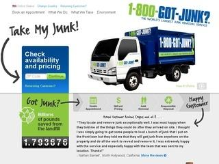 1-800 Got Junk Promo Code 2012 - Book Online for $10 Off!