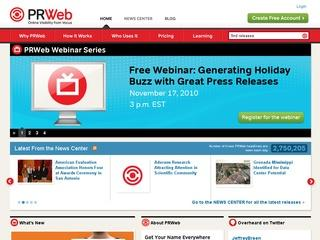 PRWeb Coupon Code 2012 – 10% off Your First Online News Release